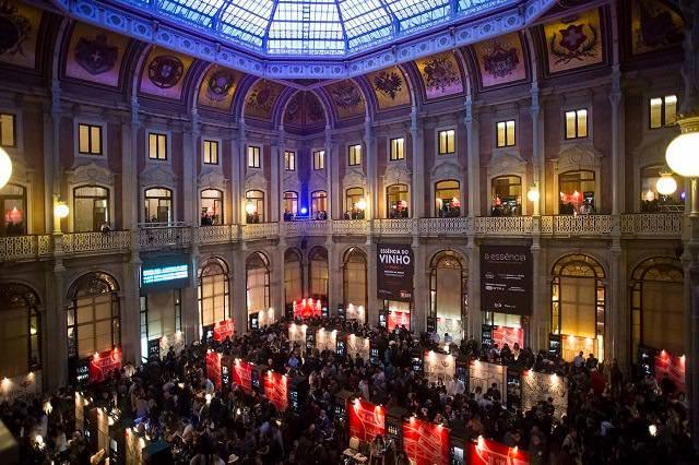 La superbe salle du Palacio da Bolsa