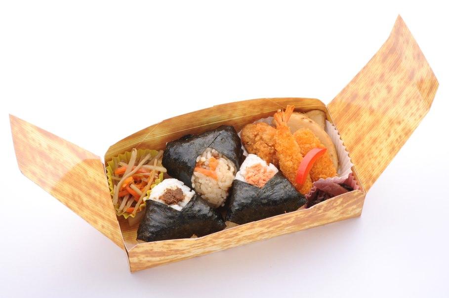 L'ekiben Onigiri, l'une des spécialités japonaises