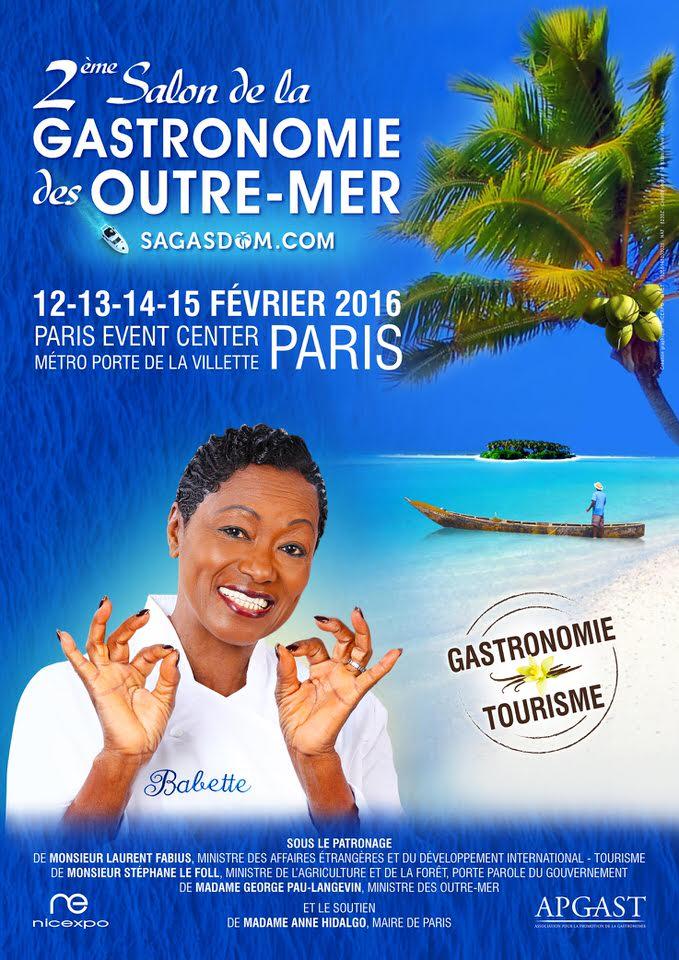Sagadom 2 me dition du salon de la gastronomie des outremers michel tanguy - Salon de la gastronomie paris ...