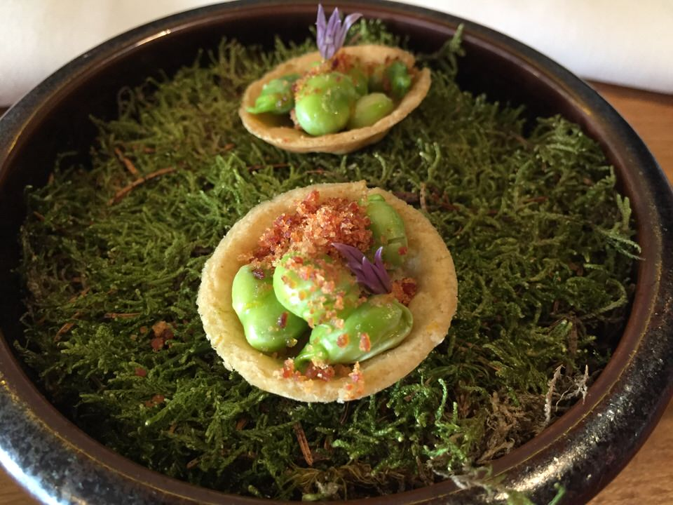 Tartelette aux fèves
