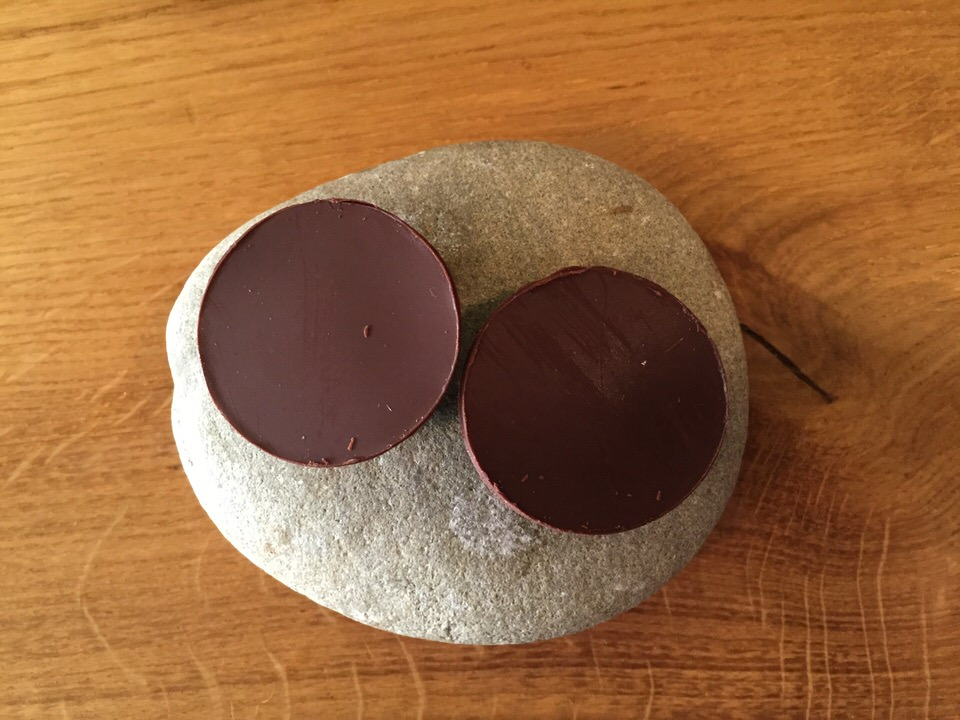 Tartelette chocolat anguille