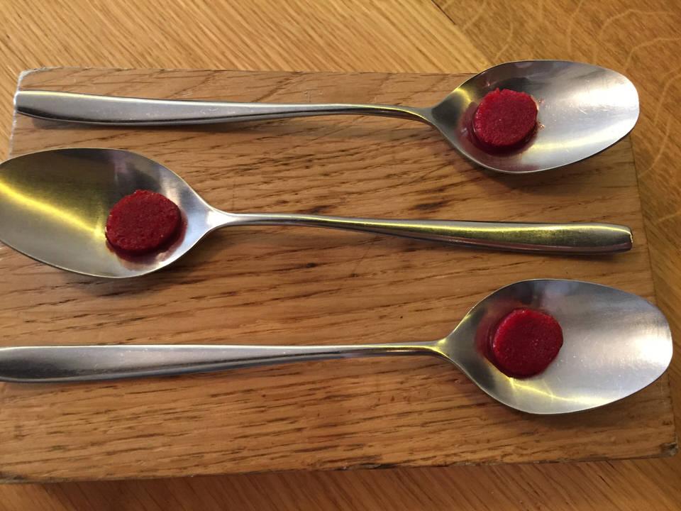 framboise harissa en pré dessert