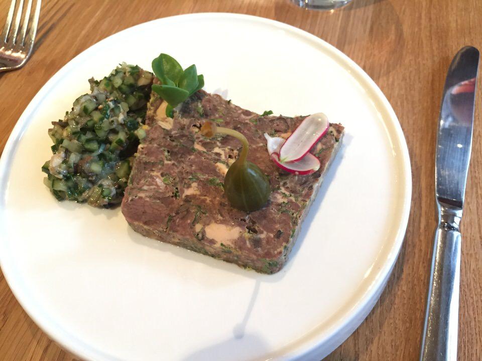 La terrine queue de boeuf et foie gras
