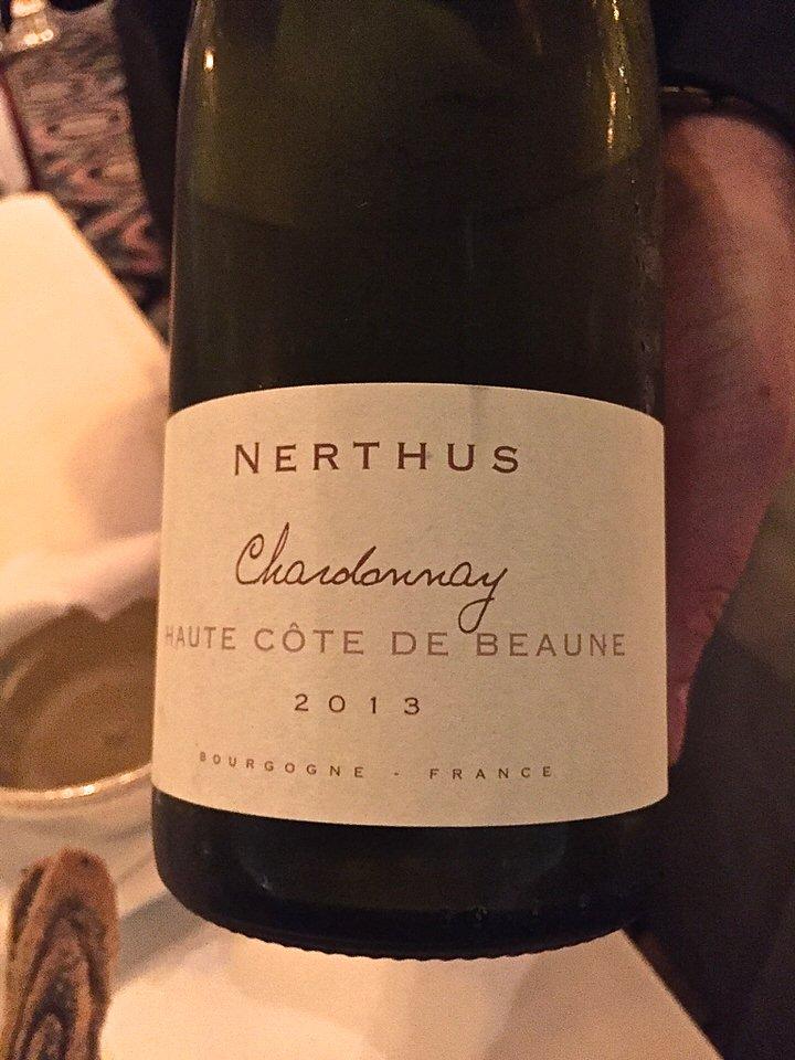 Accort parfait de ce Chardonnay avec les oursins