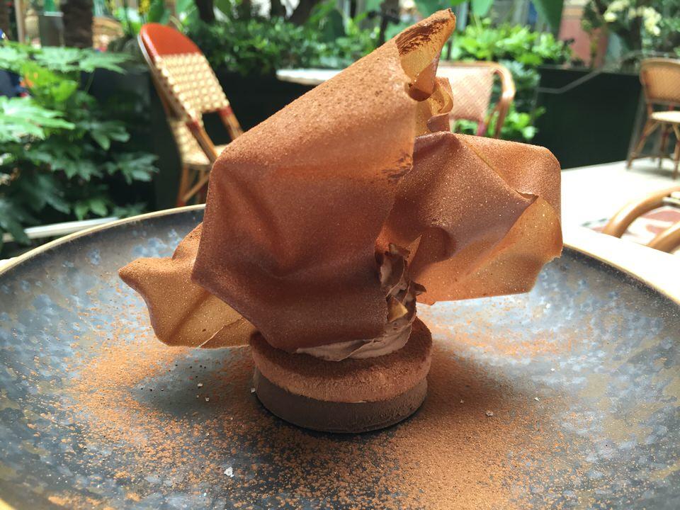 La dentelle chocolat noisette