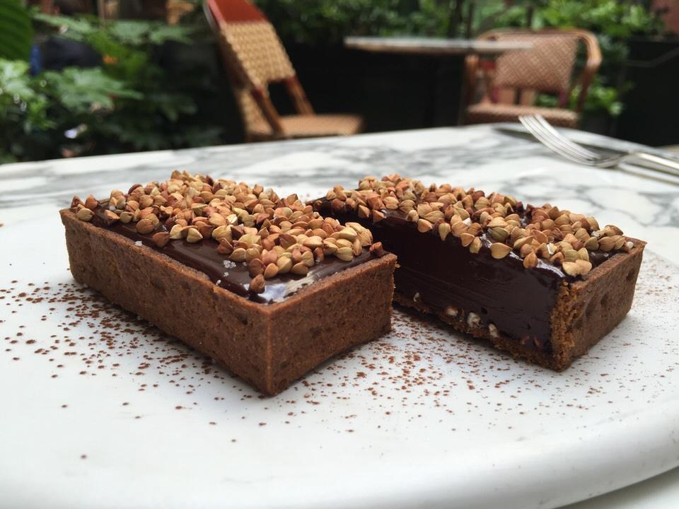 Sublime tarte chocolat sarrasin