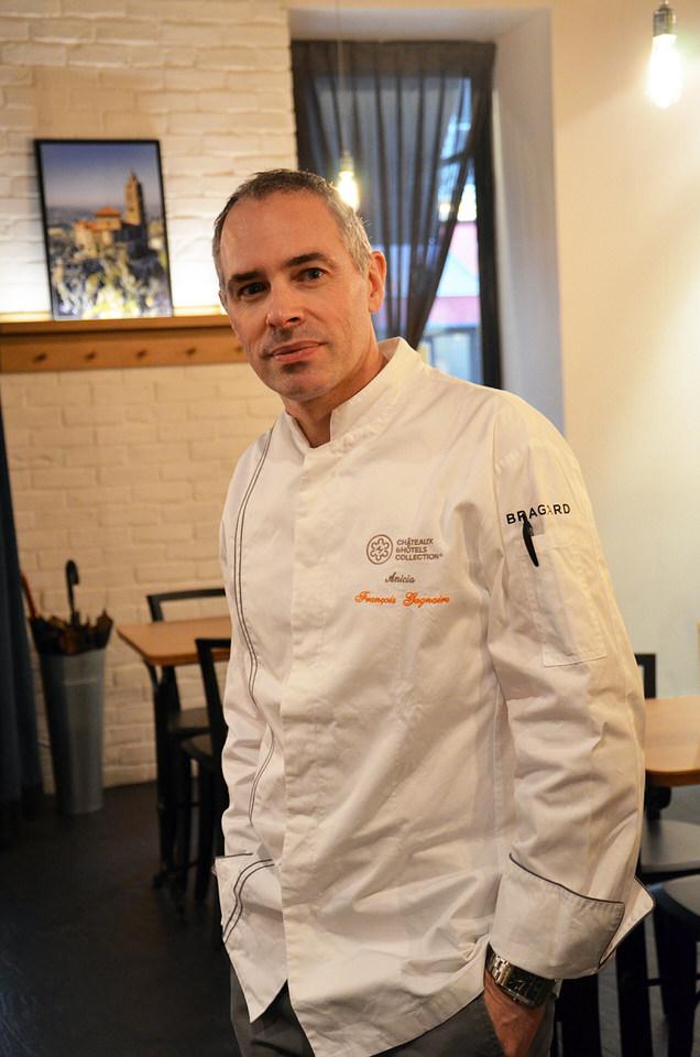François Gagnaire ! Le chef !!