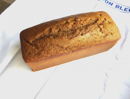 C'est le concours lancé par le magazine Fou de pâtisserie qui m'a donné envie de me relancer dans la confection d'un pain d'épices.
