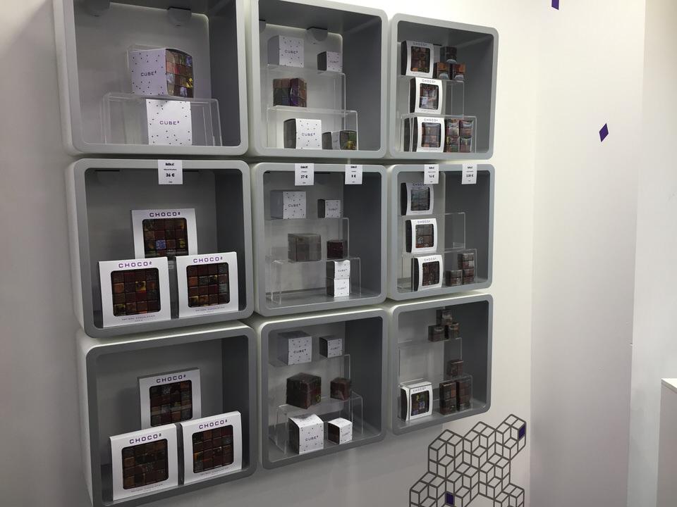 choco2  nouvelle boutique au chocolat en cube