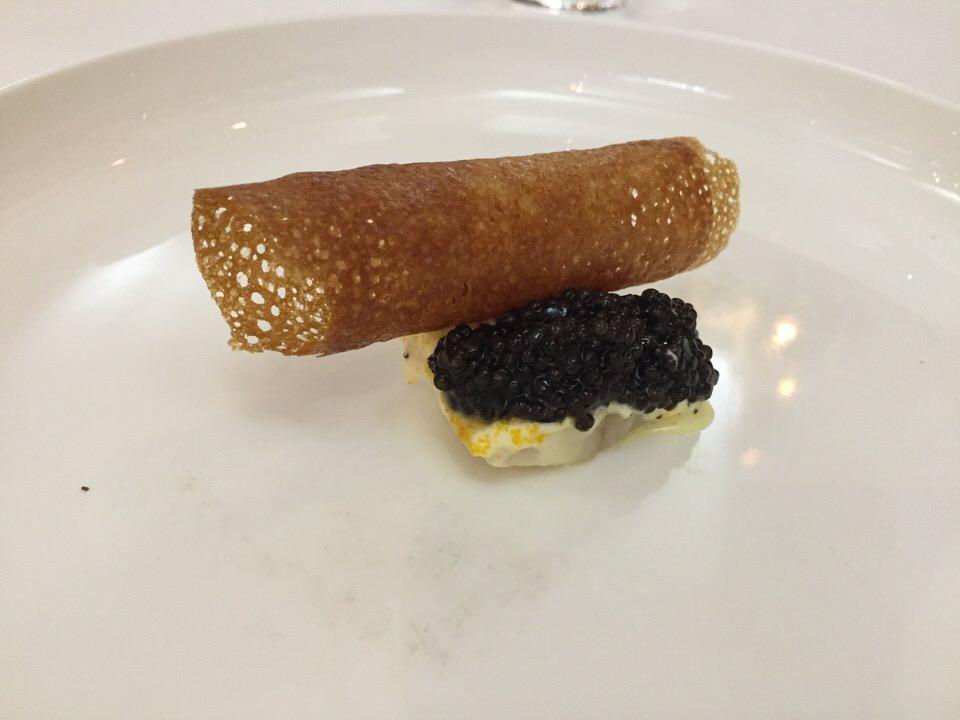 Anguille sudachi caviar