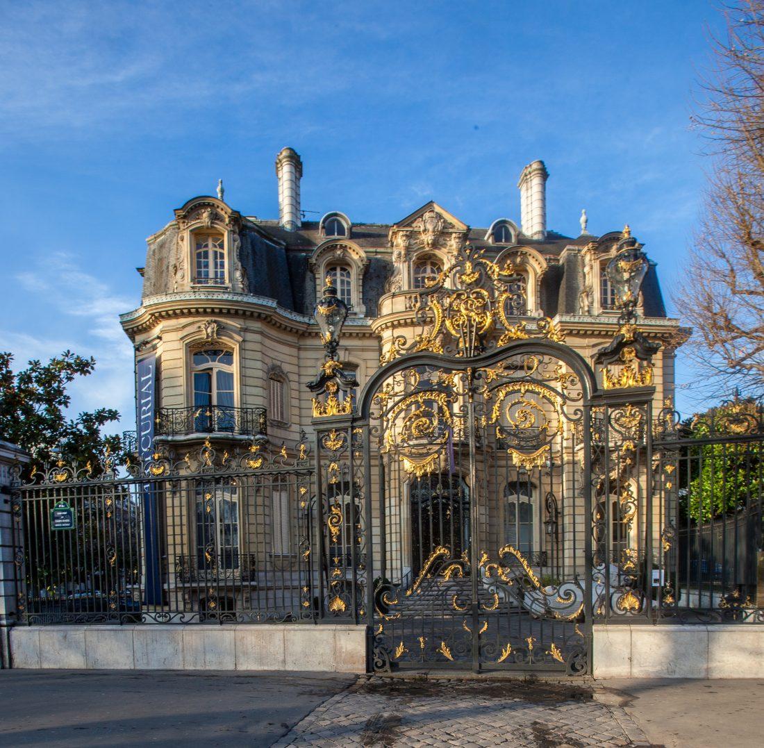 L'hôtel particulier sur le rond point des Champs Elysées