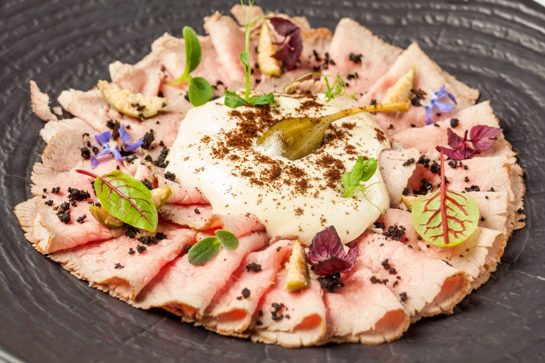 L'excellent Vitello Tonnato