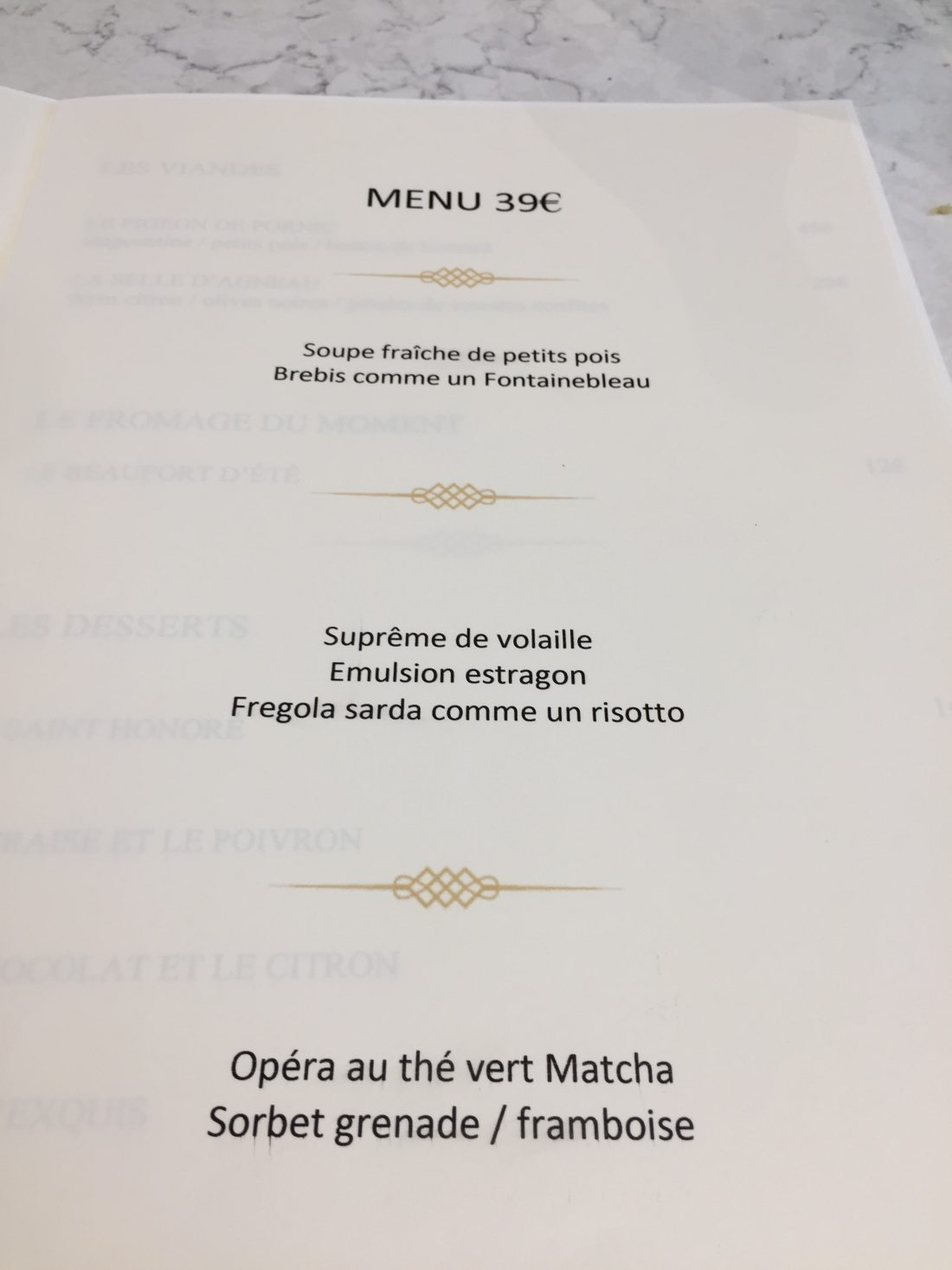 Le menu du jour  ©mtanguy