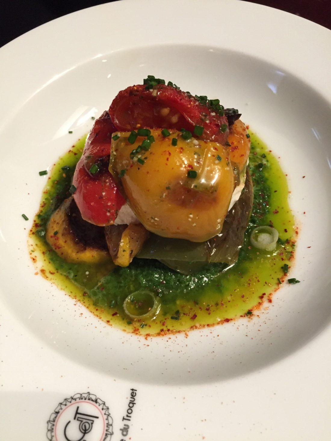 Le millefeuille de légumes mozzarella ©mtanguy