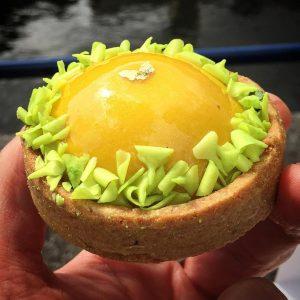 Sublime tarte mangue yuzu trs jolie travail de texture ethellip