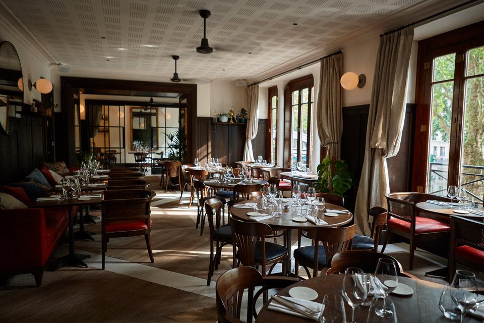 nola restaurant by rachel s nouvelle table sur les bords du canal saint martin michel tanguy. Black Bedroom Furniture Sets. Home Design Ideas