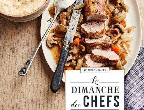Rémi Dechambre est journaliste gastronomique pour le Parisien Magazine. Chaque semaine il y propose une recette de chef qu'il compile aujourd'hui dans un livre qui va égayer nos dimanches