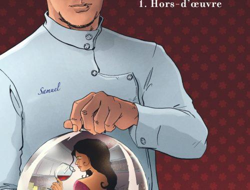 ÉTOILÉ est la première BD à nous plonger dans l'univers de la cuisine. Les scénaristes nous immergent dans l'univers des chefs, prêts à tout pour gagner des étoiles...