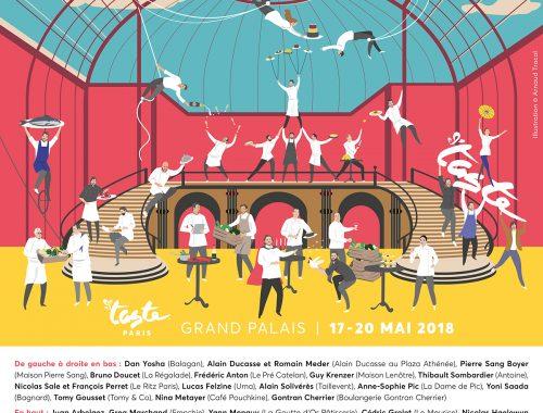 Le festival TASTE OF PARIS n'aura pas mis longtemps à s'inscrire parmi les évènements gastronomiques incontournables de la capitale. Dix-huit restaurants éphémères, un pop-up entièrement dédié au sucré, des Masterclass et des Cours de cuisine...
