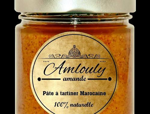 Une pâte à tartiner d'origine berbère, connue par les marocains du haut Atlas depuis la nuit des temps, voilà ce dont vous allez pouvoir désormais vous délecter grâce à Amlouly