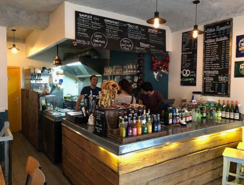 La gastronomie allemande, encore méconnue dans notre pays, trouve dans cette charmante auberge urbaine, un joli terrain d'expression...