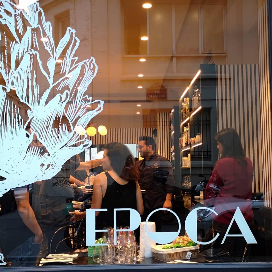 Après IDA, son premier restaurant, Denny Imbroisi installe une seconde adresse à Paris. EPOCA. Un bistro aux allures Art Déco...